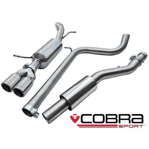 Cobra Sport Seat Ibiza FR  Cat Back Exhaust (Resonated) SE33